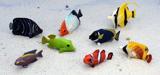 Themen dekoration kleine fische aus plastik for Deko fische plastik