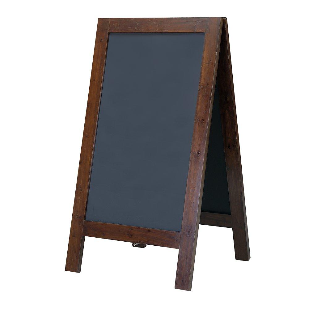 themen dekoration holz kreidetafel dunkelbraun. Black Bedroom Furniture Sets. Home Design Ideas