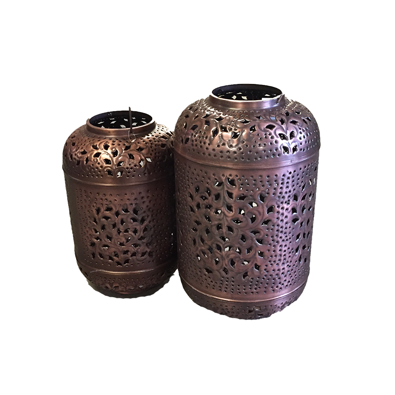 Dekorationsmaterial laternen set in bronze kupfer for Deko mieten